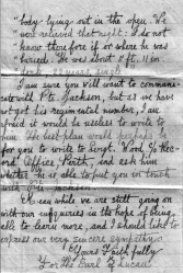 2nd page of Red Cross letter